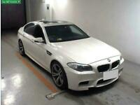 FRESH IMPORT 2013 BMW M5 4.4 V8 DCT COMPETITION PACK IMMACULATE CONDITION WHITE