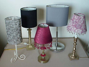 For Sale 4 Table Lamps Pristine Condition Individually Priced