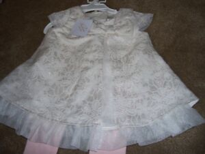 Baby Girl Dress, Heirloom by Polly Finders, BRAND NEW, Size 12m