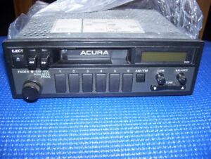 Acura stereo
