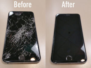 iPhone Repair CELL PHONE GLASS, LCD, battery, charging port