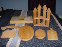 REDUCED!!!!! Pieces of Wood, Ready to Paint - Now $10