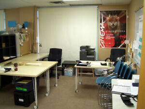 Film Production / Temporary Office Furniture & Locations Package