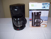 Togo Black 10 cup Electric Coffee Maker