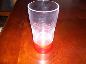 Budweiser Red Light NHL Goal Sync Glass Awesome