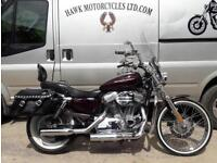 IMMACULATE ONE OFF 2005 HARLEY DAVIDSON XL1200, HEAD TURNER, 19070 MILES