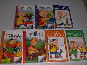 Lot de films VHS de CAILLOU