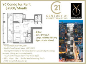 【YC Condo】DT Brand New YC Condo for Rent