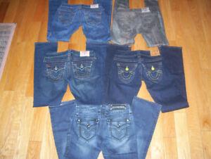 Huge lot of Womens True Religion, Rock Revival + Miss Me Jeans