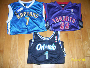 Massive Lot of NBA Jerseys  approx 24 bosh iverson pierce