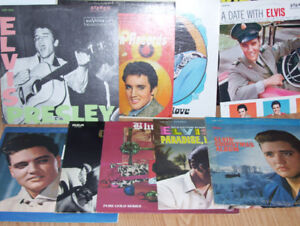 collection disque Elvis