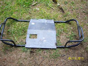 BRAND NEW Yamaha 225 DX  foot rests footpegs brush guard skid pl