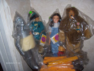 WIZARD OF OZ CHARACTER DOLLS