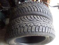 2 pneu hiver 225/60r16