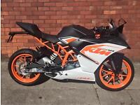 KTM 125 RC 125 Supersport