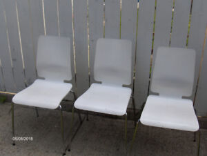 kitchen chairs - set of 3