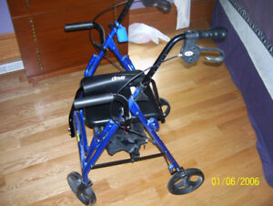 Walker Walkabout 4 Wheels Seat brand new with backing