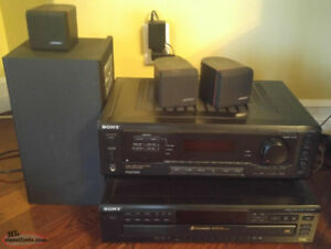 Bose/Sony Stereo System
