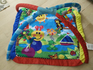 Baby play mat with toys, good clean condition