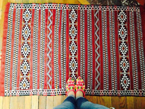 Moroccan Berber Rug Handmade - Tapis Berbèr Marocain à la main