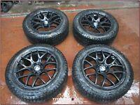 235/55/18 Winter Tires on BMW Rims Pirelli Carving Edge