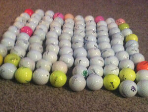 100 clean Golf Balls for $50