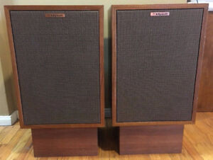 wanted klipsch Heresy speakers