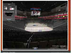 OILERS PLAYOFF TICKETS: 2 Seats, Lower Bowl, Attack Zone 2X Edmonton Edmonton Area image 1