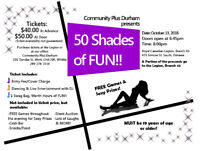 """Laughs, Giggles and more Laughs at """"50 SHADES OF FUN"""""""