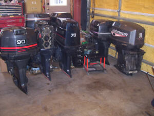 johnson and evinrude motors and parts for sale