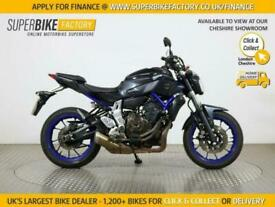2014 64 YAMAHA MT-07 - BUY ONLINE 24 HOURS A DAY