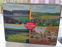 VINTAGE CRAVENS ENGLISH Confectionery Toffee TIN Sports Arenas Longueuil / South Shore Greater Montréal Preview