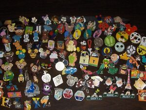 Disney pins - many are hidden mickeys