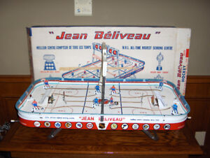 CASH PAID FOR OLD VINTAGE TABLE TOP HOCKEY GAMES