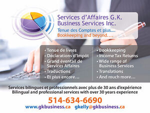 BOOKKEEPING SERVICES West Island Greater Montréal image 2