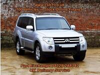 2013 59 MITSUBISHI SHOGUN 3.2 GLS ELEGANCE LWB DI-D 5D AUTO 160 BHP DIESEL