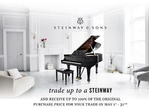 Trade up to a Steinway