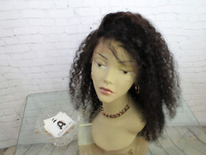 Kinky Curly Wig Front Lace 20inch / Perruque Afro Curly 20po