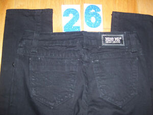 Huge Lot of Womens Miss Me Jeans 7 Total Size 26 + 27 Cambridge Kitchener Area image 2