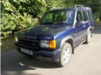 LAND ROVER DISCOVERY 2.5 TD 5 GS 7 SEATER DIESEL