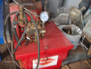 For Sale pressure washer pump & tank system from Hotsy