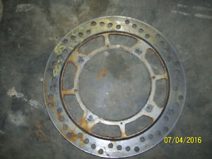 Honda CR125 CR250 CR500 XR250 XR600 brake rotor brake disc
