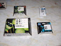 Brand-new, unopened HP black and colour ink cartridges Kawartha Lakes Peterborough Area Preview