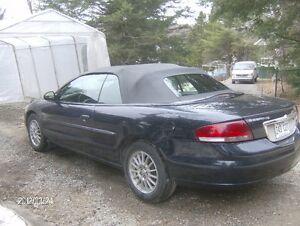 2004 Chrysler Sebring cuir Cabriolet