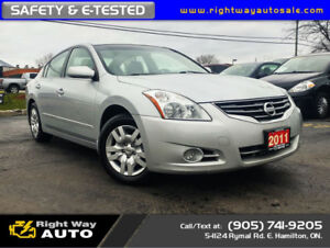 2011 Nissan Altima 2.5 S | SAFETY & E-TESTED