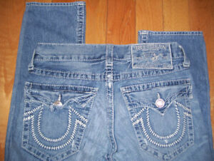 Huge lot Mens True Religion jeans 5 pairs