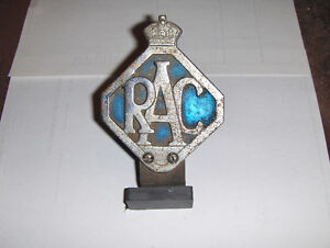 Royal Automobile Club Emblem