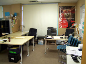Film Production Office / Studio Furniture Package