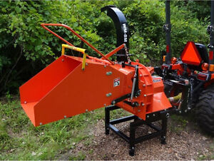 WOOD CHIPPER (TM-8) DE LUXE *NOUVEL ARRIVAGE*