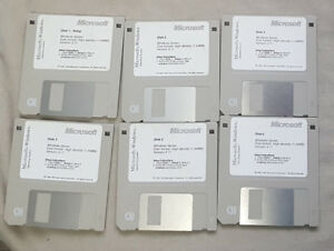 Microsoft Windows 3.11 Installation Disks
